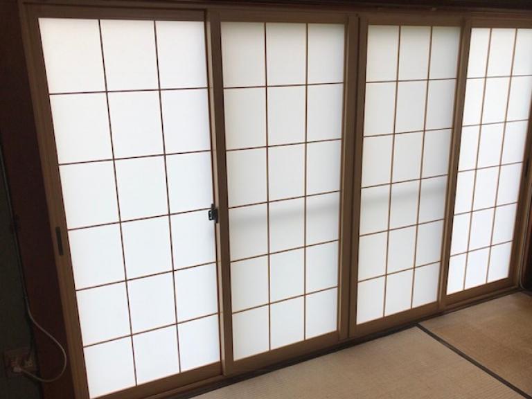 内窓取り付け施工後