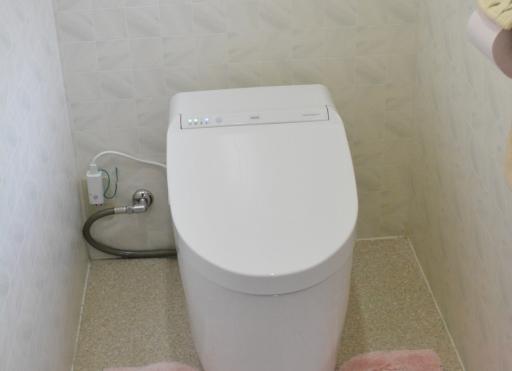 TOTOトイレ交換施工後