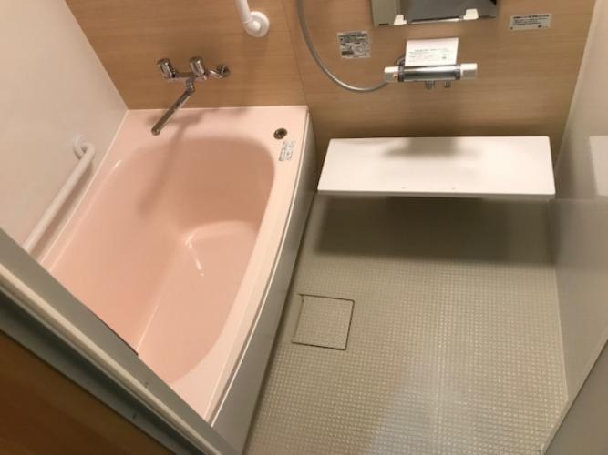 システムバスルーム施工後